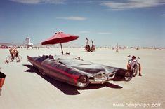 Cars from Burning Man