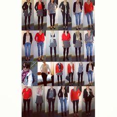 Już dziś na blogu nowa #capsulewardrobe  Jesienna kolorystyka J Zapraszam!  https://minimalnat.wordpress.com/2014/11/06/capsule-wardrobe-pazdziernik/  #minimalizm #ootd #polishbloger #1030 #lessismore