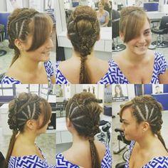 For more: http://www.getitgirlstyle.com/hairstyles/  #braidsforgirls #braids #braidsfordays #brownhair #blonde #hairstyle #hairstyleideas