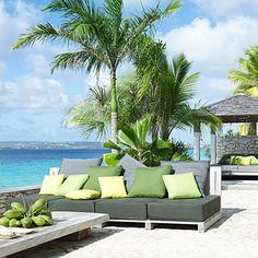 Bonaire, Caribbean Outdoor Lounge