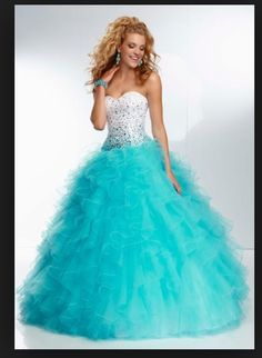 Prom dress my fav colors in 1