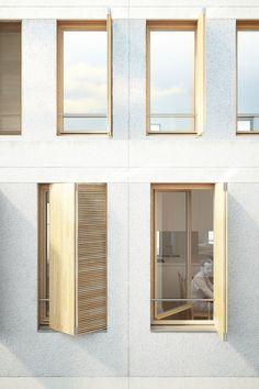 60 logements étudiants en collocation - atelierpng architecture - AJAP 2014 - Europe 40 Under 40 2014