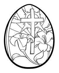 Image Result For Easter Religious Eggs Print Coloring PagesAdult