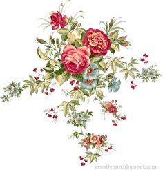Клипарты цветы. Картинки для декупажа цветы. Цветы для фотошопа.: ♥ Creative NN. Блог Альбины Рассеиной. ♥