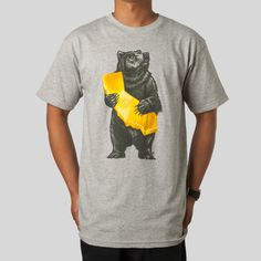 Upper Playground - Cali Bear T-Shirt in Athletic by Munk One