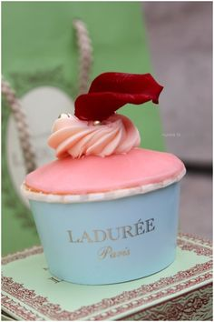 I could spend an entire day ar Ladurée tasting everything, gaining ten pounds and happily developing diabetes.