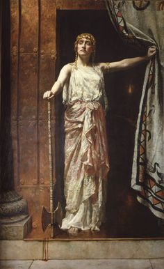 Clytemnestra After the Murder, by John Collier.