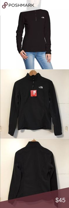 Women's The North Face 1/4 Zip Fleece Jacket Women's The North Face 100 Glacier 1/4 Zip Fleece Jacket  • Women's size XL  • NEW with tags • No trades •100% authentic The North Face Jackets & Coats