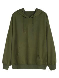 Vêtements Verts, Manches Longues, Tenue Sweat-shirt, Veste Verte, Stilvolle  Mode bbcb022943c
