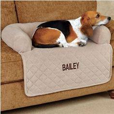 ソファーや車内用に♪ペットの名入可簡易犬猫ソファーカバー3色