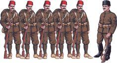 Ottoman Army Uniforms WW1