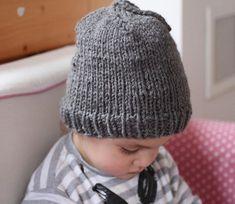 Jednoduchá na pěti – PLETENÍ – NÁVODY Knitted Hats, Beanie, Knitting, Tricot, Breien, Stricken, Weaving, Beanies, Knits