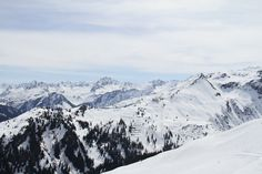 Panorama Nova Stoba im April 2015 #silvrettamontafon #springpowder #lovethisview