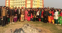 Lohri was celebrated with full zeal and enthusiasm in the premises of Universal Group Of Institutions. The mood on the campus was upbeat and the students were totally absorbed in the festive spirit of Lohri.  Check out http://bit.ly/1HNaVok for more information.