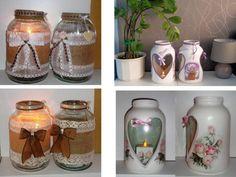 5l svietníky...pôvodne ako dekorácia na vystúpenie a pre všetky priateľky na terasu....