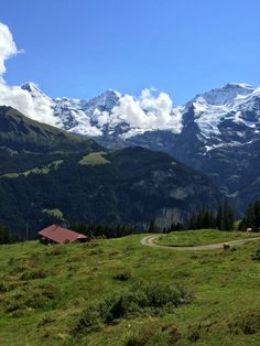 Lauterbrunnen valley, Mürren