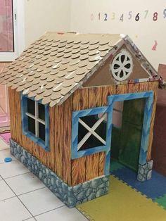 Las Mejores 160 Ideas De Casitas De Cartón Para Niños Casitas De Carton Casas De Cartón Casa De Cartón