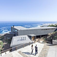 """Chilean seaside house by LAND Arquitectos designed to """"catch the views"""""""