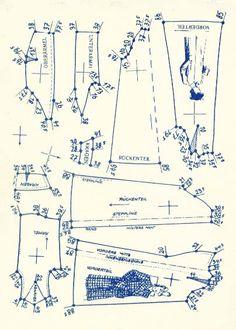 Lutterloh 1938 Book Of Cards -  Models Diagram Card 17