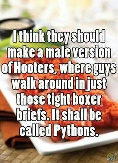 Haha haha. I want this to be a thing
