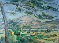 For more than 20 years, Paul Cézanne tirelessly painted Mont Sainte-Victoire in Aix-en-Provence.  A genuine love story between a painter and his subject.