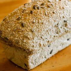 Our Grainary tinned loaf is packed full of wholegrain ingredients; barley flakes, cracked wheat, pumpkin, sunflower and sesame seeds. How To Store Bread, Pumpkin Loaf, Cracked Wheat, Baking Soda, Bakery, Flakes, Seeds, Food, Essen