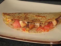 BJ Brinker's Home Cooking: Honey-Lime-Cilantro-Chicken-Quesadillas
