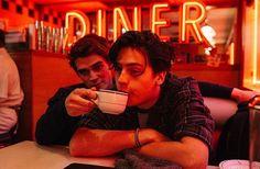 Riverdale: Kj Apa and Cole Sprouse (photo via Kj's Instagram)