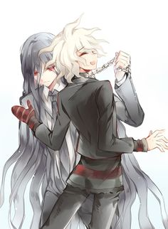 Izuru looks so done with Nagito half the time xD <<<<< Hajime did, too, although that applies to pretty much everyone XD