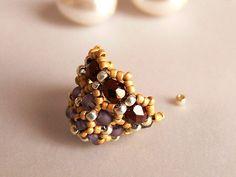 how to make beaded earrings, bead earrings master class