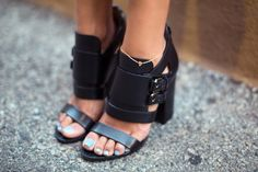 Givenchy Buckle Sandals http://rstyle.me/n/bip4abtd