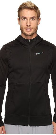 Nike Therma Hyper Elite Basketball Hoodie (Black/Black/Iridescent) Men's Sweatshirt - Nike, Therma Hyper Elite Basketball Hoodie, 800037-010, Apparel Top Sweatshirt, Sweatshirt, Top, Apparel, Clothes Clothing, Gift - Outfit Ideas And Street Style 2017