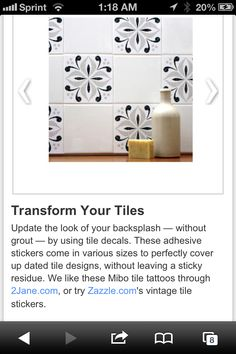 Decal your tiles