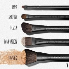 Make up brushes love them you should make sure you clean them so that they last longer and also if you dont clean them that could be putting the old make up run back on your face and cause a breakout.