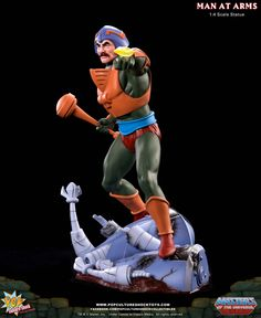 MOTU: Man at Arms 1:4 Scale Statue