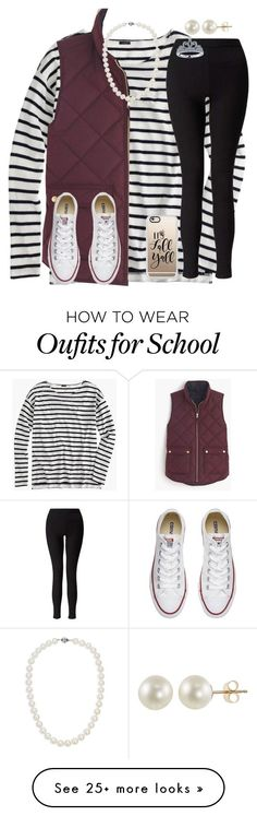 """""""Day 1- School Festival"""" by mimichavi on Polyvore featuring J.Crew, Miss Selfridge, Converse, Blue Nile, PearLustre by Imperial, Casetify, Disney and kennshalloweencontest"""