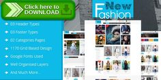 [ThemeForest]Free nulled download Fashion eCommerce Html Template from http://zippyfile.download/f.php?id=11547 Tags: 3 column layout multipurpose, cloth online store, dark online store html, ecommerce, ecommerce blog, html, list and grid design, multipurpose, multipurpose ecommerce, online shopping
