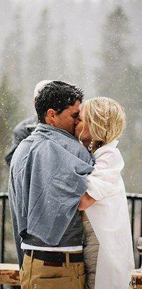 38 photos sublimes de mariages sous la neige