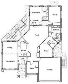 Open Floor Plans Cottage Style Homes