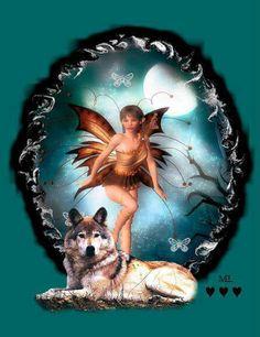 Wolf fairy