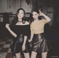 Image via We Heart It #friend #girls #korean #ulzzang #ulzzanggirl #kstyle #kfashion #sungkyung #chaeeun