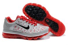 Nike Air Max 2011 Grey Red Black Men's Shoes
