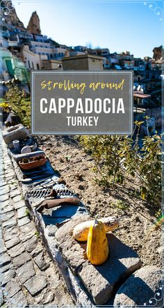 My journey to #CappadociaTurkey was so memorable. Not just because of the popular valley, fairy chimneys, or the air balloons, but because of the experience itself. Imagine strolling around one of the towns here... #Travel #TravelCappadocia #TravelTurkey #CappadociaThingsToDo Backpacking Europe, Europe Travel Tips, European Travel, Asia Travel, Travel Guides, Travel Destinations, Beautiful Places To Visit, Cool Places To Visit, Places To Travel