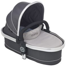 Peach 3 Blossom Carrycot Truffle - Optional extra carrycot suitable from birth and overnight sleeping. Comes complete with padded mattress and raincover. Ideal until baby can sit unaided or weighs 9kg. http://www.icandyworld.com/uk/en/product/peach-3