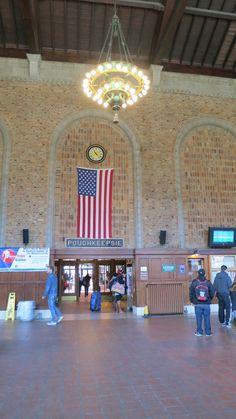 Interior New York Central Railroad
