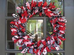 Texas Tech Wreath!!