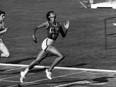 """""""My doctors told me I would never walk again. My mother told me I would. I believed my mother"""" - Wilma Rudolph, the first American woman to win 3 gold medals in track and field events at Rome Olympics Games, 1960 Wilma Rudolph, 1956 Olympics, Summer Olympics, Track And Field Events, Brave, Victory Parade, E Sport, Olympic Champion, Women In History"""