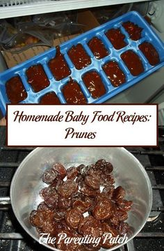 Baby food recipes green beans little ones of and babies homemade baby food recipes prunes forumfinder Gallery
