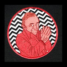 3 Man From Another Place patch Twin Peaks Tribute Patch