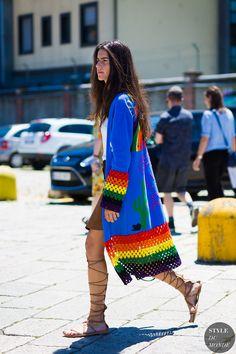 Chiara Totire Street Style Street Fashion Streetsnaps by STYLEDUMONDE Street…